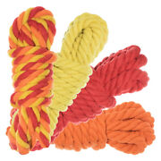 Twisted Natural Cotton Rope 40 And 100 Foot Combo Kits – Super Soft Cord