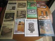 Woodworking Magazine And Book Lot-woodsmith, The Woodworker's Journal, Workbench