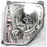 Headlight For 2008-2012 Jeep Liberty Left With Bulb And Fog Light