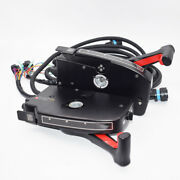 2x Boat Motor Right+left Side Mount Remote Control Box 8pin Outboard For Mercury