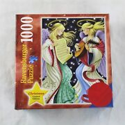 1000 Ravensburger Puzzle Christmas Limited Edition Two Angels 80337