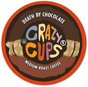 Crazy Cups Death By Chocolate Coffee 22 To 110 Keurig K Cups Pick Any Size