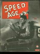 Speed Age 3/1950-the Big Wheel-bill Holland Mauri Rose-ted Horn-offy Engine-vg