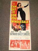 I Can Get It For You Wholesale-1951-insert-s. Hayward Vg