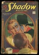 The Shadow Feb 1 1935-plot Master-street And Smith--pulp G
