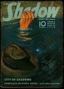 The Shadow Pulp June 15 1939- City Of Shadows- Vg/fn