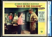 Man In The Shadow-colleen Miller-lobby Card 2-1958-cgc 9.8-nm/mint Nm/mint