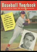 Baseball Yearbook 1-1950-ted Williams Cover-high Grade Nm