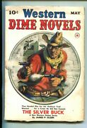 Western Dime Novels-1-may 1940-pulp Fiction-southern States Pedigree-fn+