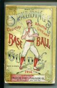 Spaldingand039s Official Baseball Guide-1915-historical-stats-4 1/4 X 6 3/8-good-
