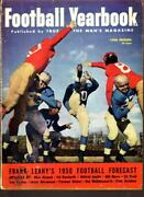 True Football Yearbook 1950 1 Kyle Rote Notre Dame Vg