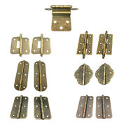Modern Antique Brass Mini Hinges For Wooden Furniture Box Hardware