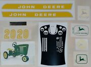 20 Series Decal Set For John Deere Toy Pedal Tractor 3020-4020 Computer Cut Jp20