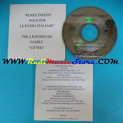 Cd Single The Lighthouse Family Lifted 5002269 Italie Promo Cardsleeve S12