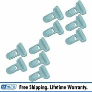 Oem 7539235220 Retainer Clip Kit Set Of 10 Direct Fit For Toyota Lexus New