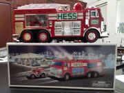 Complete 2005 Hess Emergency Truck With Rescue Vehicle And Box