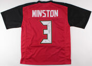 Jameis Winston Signed Tampa Bay Buccaneers Jersey Beckett Coa Nfl R.o.y 2015