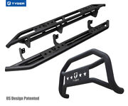 For 2005-2021 Nissan Frontier Crew Cab Tyger Armor And Bumper Guard Combo