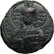 Jesus Christ Class A2 Anonymous Ancient 976ad Byzantine Follis Coin I70412