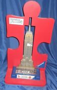 Ravensburger 3-d Puzzle Toys R Us Exclusive Display Empire State Building