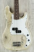 Rock N Roll Relics Vicious Bass Rosewood Fingerboard Medium Aged Blonde W/ Case