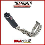 73808c6ky Andeacutechappement Full Giannelli Ipersport Yamaha Mt-09 2016- Carbone/carbo