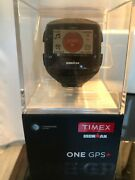 Timex Ironman One Gps+ Trainer Smartwatch - Black/gray/lime