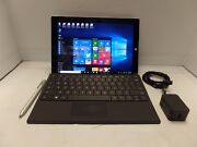 Microsoft Surface 3 10.8 4gb 128gb W10 Tablet W/ Type Keyboard And Case Bundle