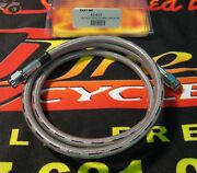 Midwest 60 Stainless Steel 3 Universal Brake Line For Harley And Customs