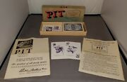 Vintage 1919 Pit Commodities Card Game Bull And Bear Edition Parker Brothers