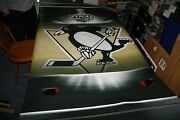 2008and03909 Stanley Cup Finals 4 Ft X 6 Ft Pittsburgh Penguins Arena Street Banner