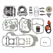 100cc Big Bore Kit For 69mm Valve Gy6 49cc 50cc 139qmb Moped Scooter Engine 50mm