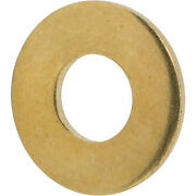 3/4 Flat Solid Brass Flat Washers Commercial Standard Grade 360 Qty 500