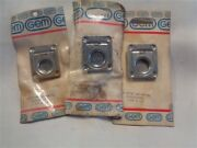 Gem 1302 Spring Loaded Latch Stainless Steel 1 3/4 X 1 1/2 Lot Of 3 Boat