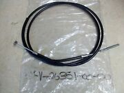 New Oem Left Side Rear Brake Cable For Yamaha 1986 1987 Ce50 Ce 50 Scooter