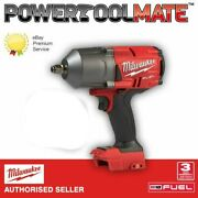 Milwaukee M18fhiwf12-0 Fuel Gen2 1/2 Inch Impact Wrench