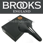 Brooks Cambium C17 Carved All Weather Saddle Black Nylon Rubber Seat Road Bike