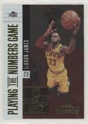 2017-18 Panini Contenders Playing The Numbers Game Lebron James 19