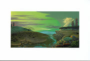 Bruce Ricker - River Of Mystery Hand-signed Serigraph On Paper Framed