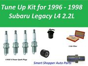 Tune Up Kit For 1996 - 1998 Subaru Legacy 2.2l Spark Plug, Air Filter, Oil Filte