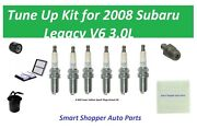 Tune Up For 2008 Subaru Legacy V6 Fuel Filter, Air Filter, Cabin Air Filter, Oil