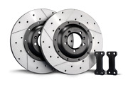 Tarox Rear Brake Disc Upgrade Kit 350mm For Ford Focus Mk2 Rs 2009