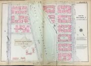 1922 Morningside Pk Manhattan Ny Cathedral Pwy-116th And 8ave-amsterdam Atlas Map