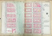 1922 Morningside Hts Manhattan Ny W116st-w122st - 8ave To Amsterdam Atlas Map