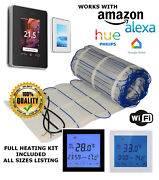 Electric Underfloor Heating Mat Kit 200w/m2 All Sizes In This Listing Ultra