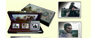 2012 Cook Is. Color Proof Silver Set 3x5 Tolstoy War And Peace -gift Box Set