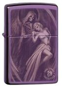 Zippo Windproof Anne Stokes Lighter With Gothic Image 29717 New In Box