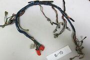 Dash Harness For Early Rubber Mgb Bumper Cars