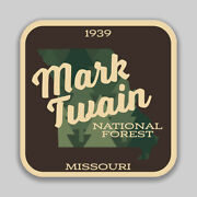 Mark Twain National Forest Decal Sticker Explore Wanderlust Camping Hiking