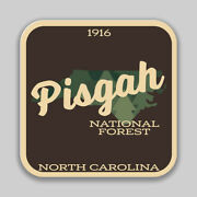 Pisgah National Forest Decal Sticker Explore Wanderlust Camping Hiking